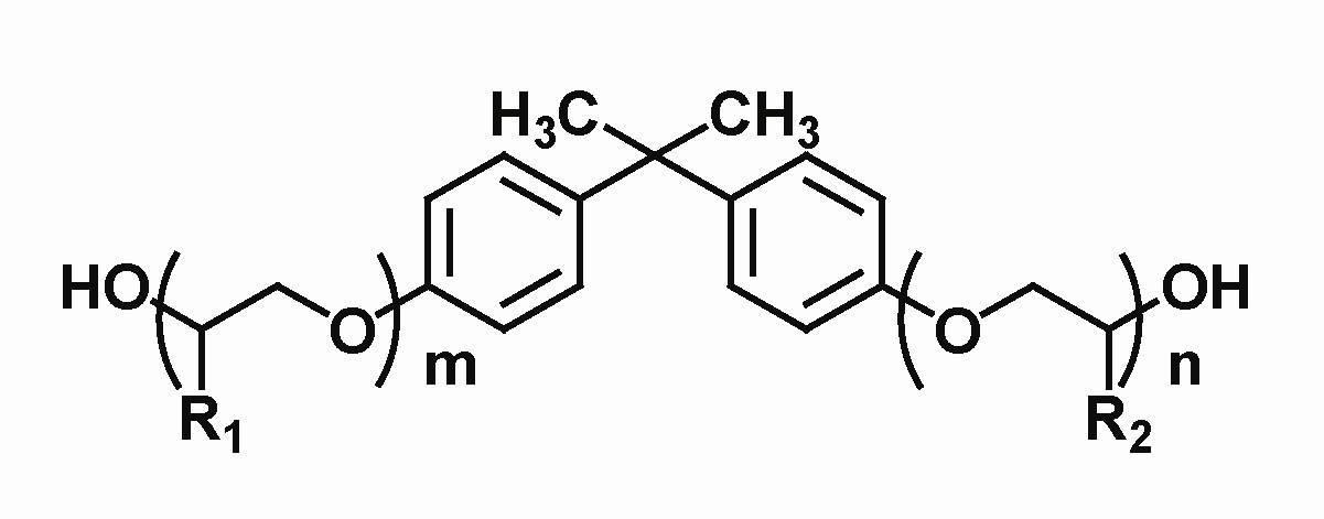 Alkoxylated Bis-phenol A (BPA-PO, CAS No. 116-37-0)