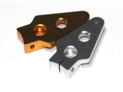 FITEC/FEETECH High Quality ORANGE 23mm 25T Metal Servo Arm for futaba Servo