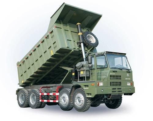 SINOTRUK HOVA Mining Dump Truck / Mining Tipper( 8x4 65ton )