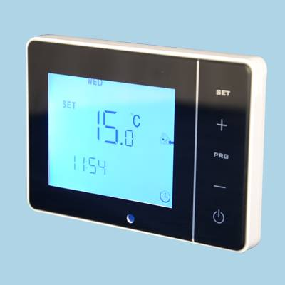 Large Touch Screen Heater Thermostat for South Korea Wall Panel Heater