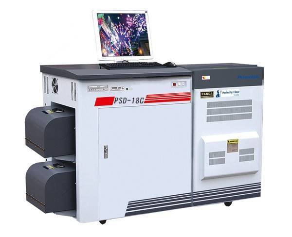Double sided color lab, photo lab machine