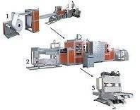 fast-food package making machine