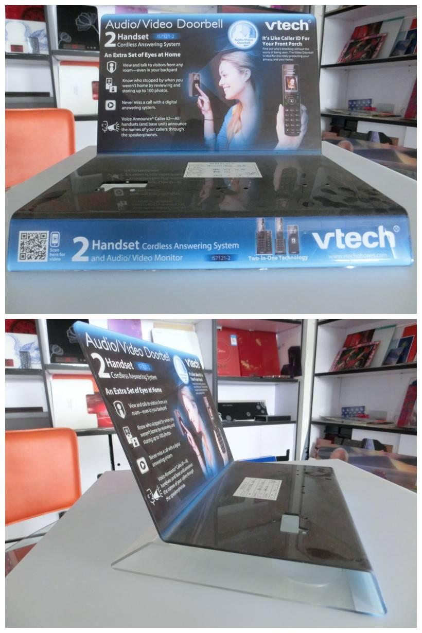 Hot Sell Acrylic Display Shelf / product show equipment