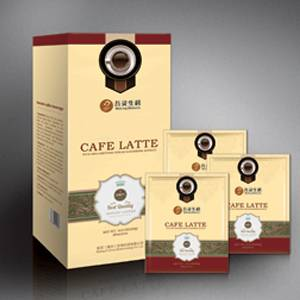 Ganoderma latte instant slim coffee
