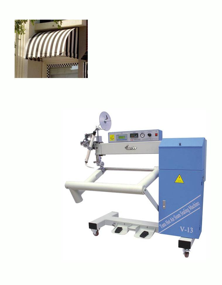Sell Hot Air Seam Sealing Machine For Tents (V-13)
