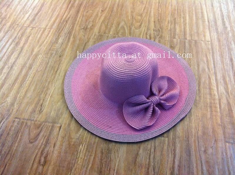 2014 fashion woman's straw hat