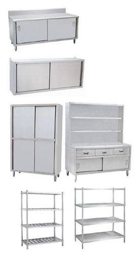 Stainless Kitchen Storage Cabinet