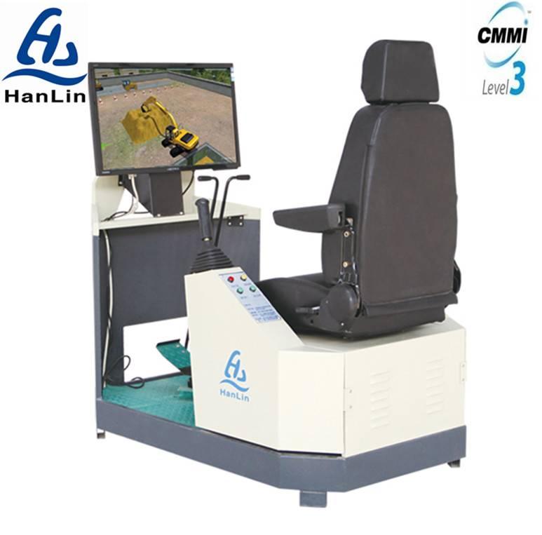 construction machinery training simulator