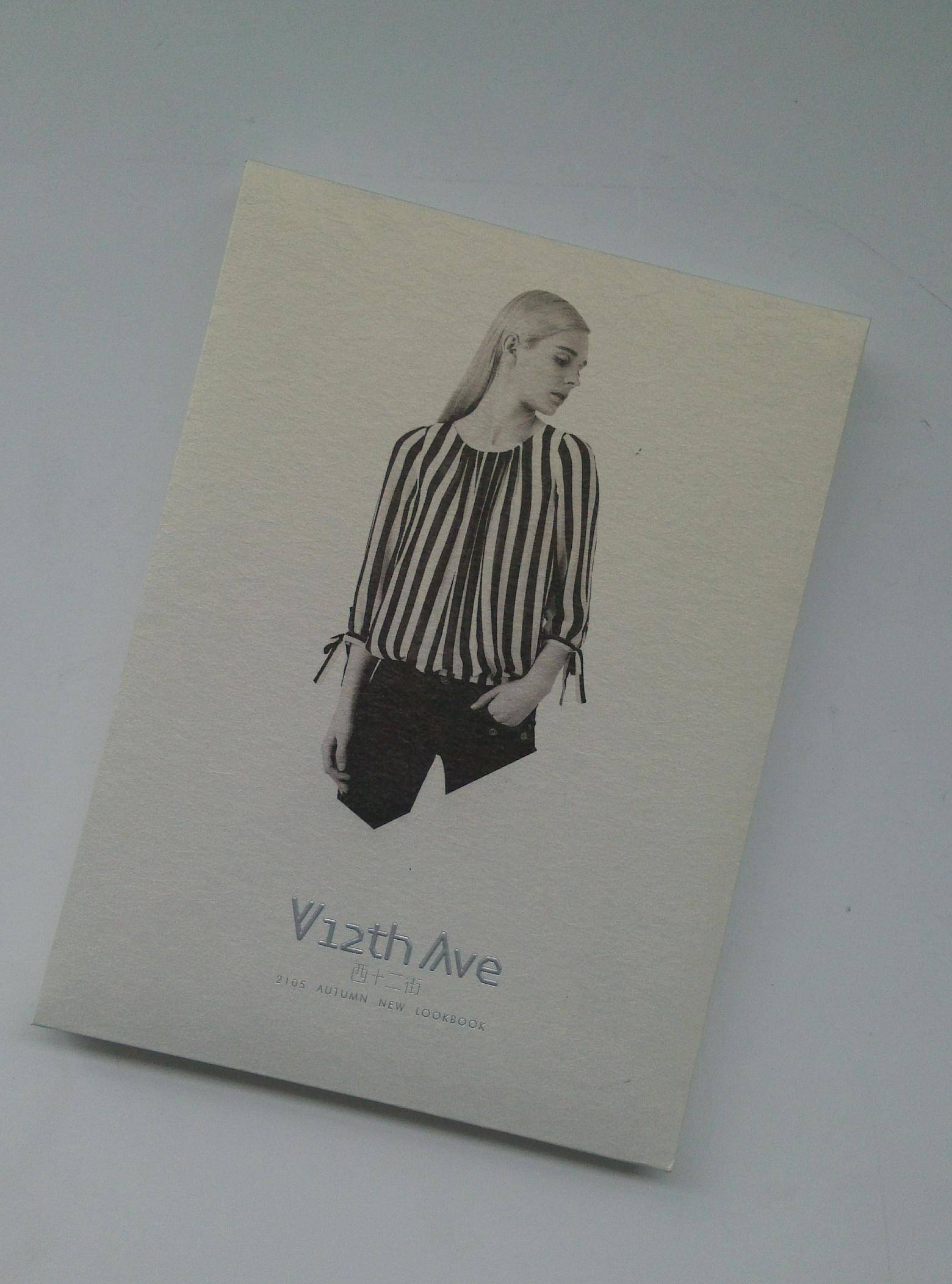 clothes hardcover book printing on demands