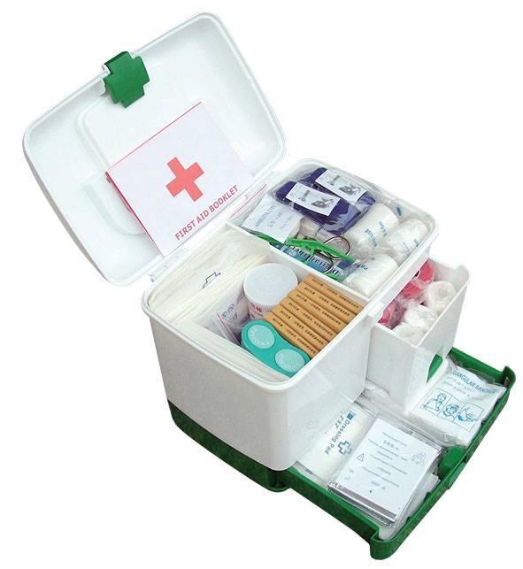 Portable First aid kit WK-020 (CE,FDA)