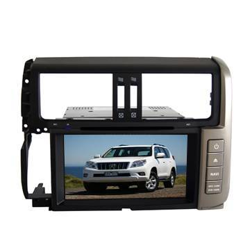 Toyota 2012 PRADO Special Car DVD Player GPS navigation with Bluetooth/TV/3G/iPod