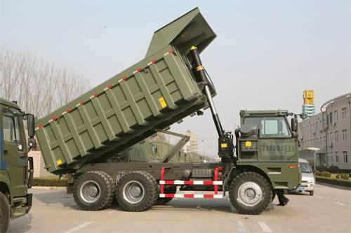 SINOTRUK HOVA Mining Dump Truck / Mining Tipper(6x4 60ton)