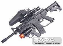 Tippmann X7 Squad Blaster Kit with Marker Package