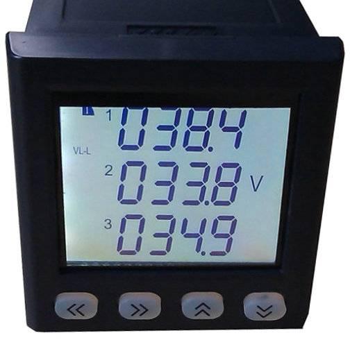 three phase digital active power meter