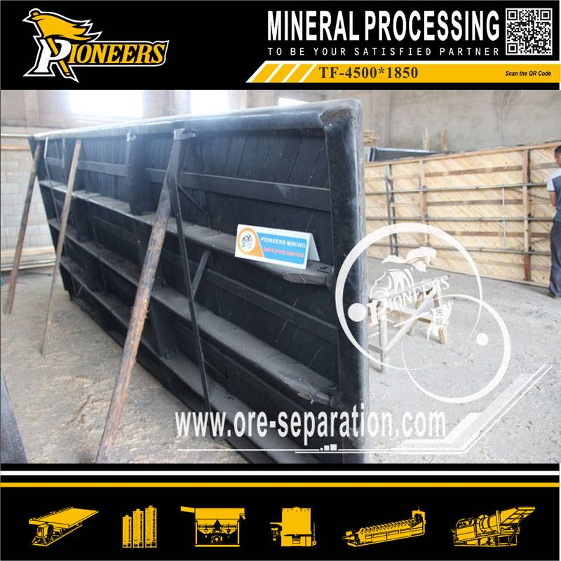 6s Manganese/ Iron /Gold / Mineral Ore floating Shaking Table