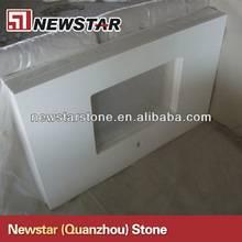 Good price snow white quartz countertop