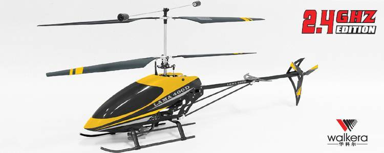 Walkera Lama 400D 2.4G Electrical RC Helicopter(RTF)