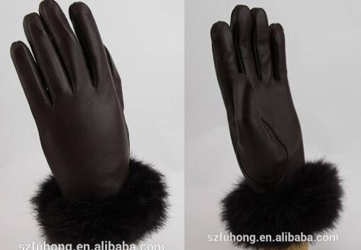 glove factory importers fashion lady sheep leather winter glove