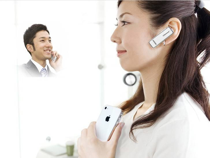 Ultra-Slim And Lightweight V3.0 Bluetooth Wireless Headset Stereo HM3900 With Clip