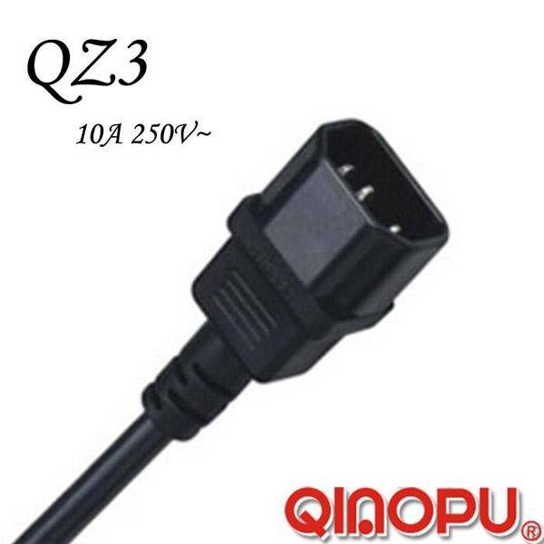 IEC 60320 C14 Connector (QZ3)