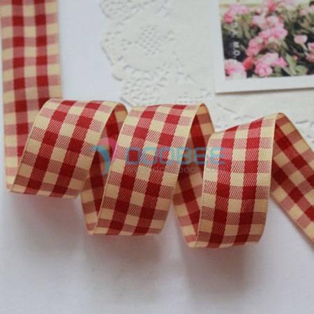 Check Ribbon, Plaid Ribbon, Gingham ribbon, Scrapbook Ribbon, Tartan ribbon