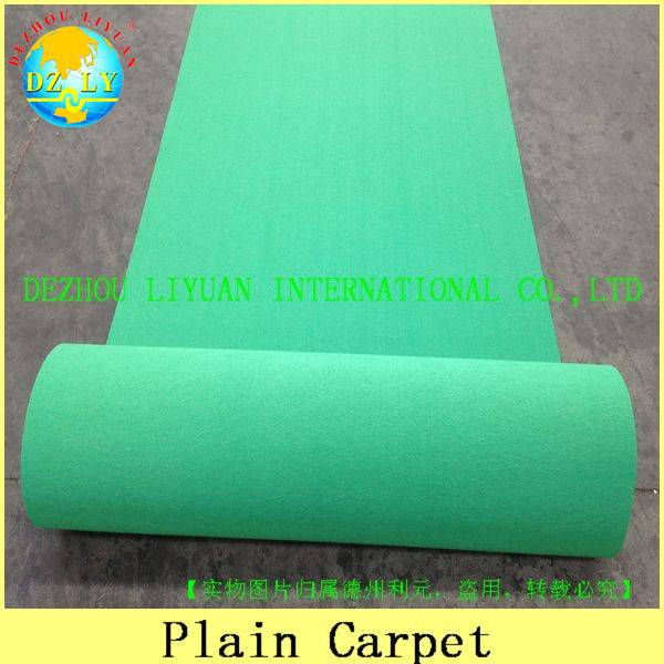 100% polrester hot sale exhibition carpet