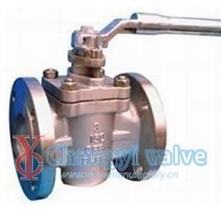 API soft sealing plug valve