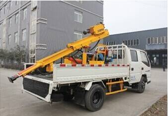 Road Guardrail Rush Repair Vehicle LSDB230