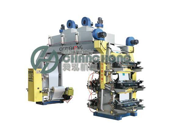 High Speed 6 Color Flexographic Film Printing Machine(CH-886)