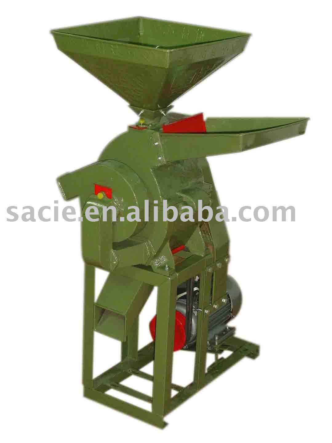 Machine for crush Rice-Straw