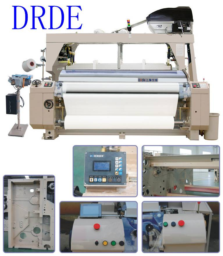 Shirting fabric weaving machine 190cm water jet loom