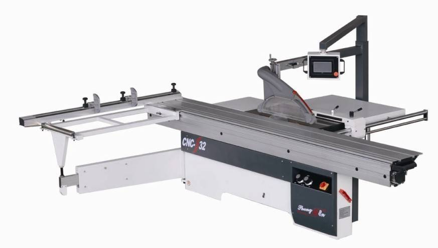 wood cutting cnc panel saw with LED control board CNC-32TA
