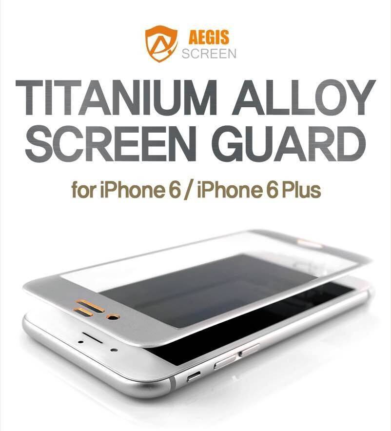 3D full covered 2nd Aegis Titanium Alloy tempered glass screen protector For iPhone6 plus