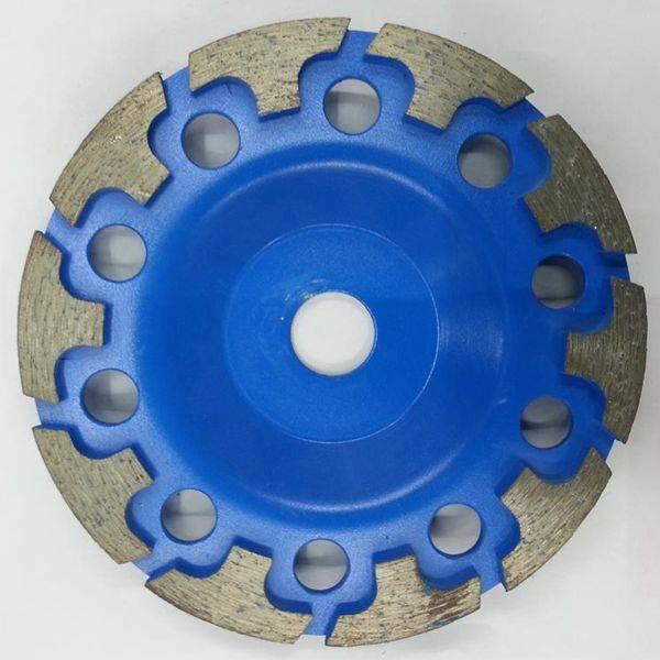 T Type Segmented Diamond Grinding Cup Wheel with M14 Thread Arbor