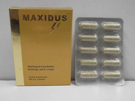 100% Herbal Product, Sex Medicine---MAXIDUS