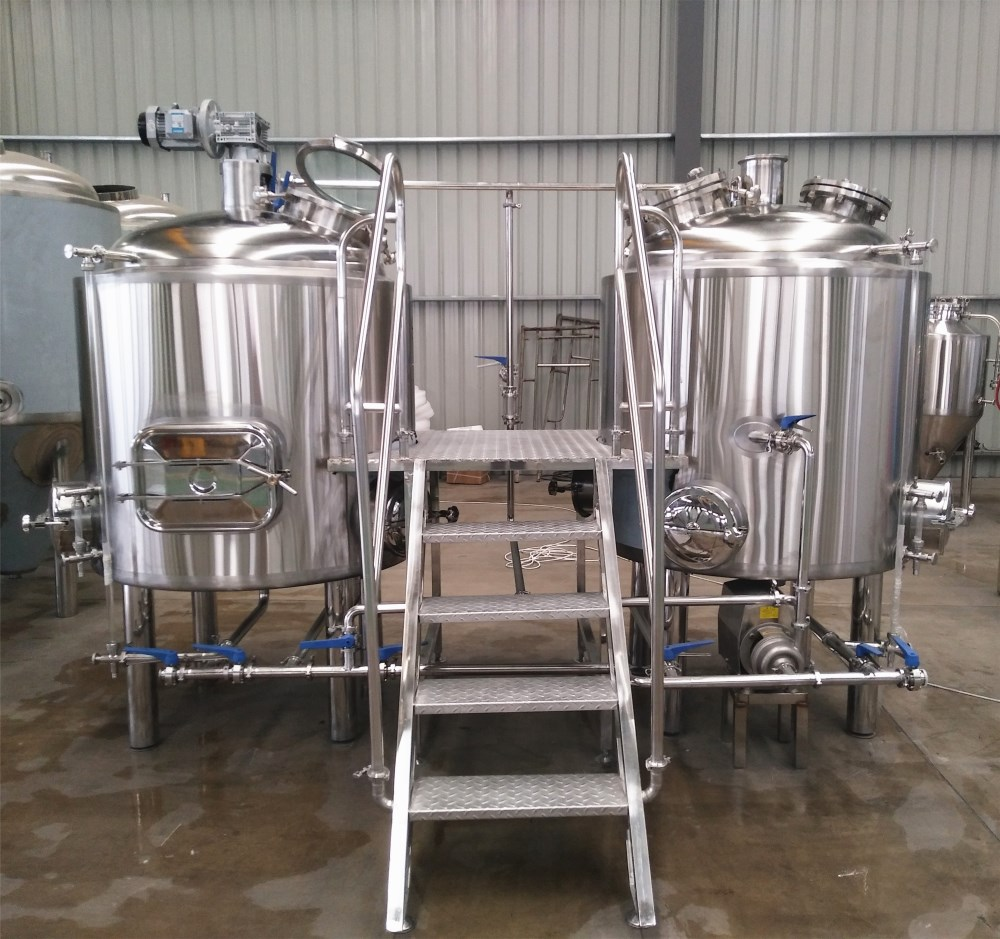 500L turnkey beer brewing equipment/brewery plant