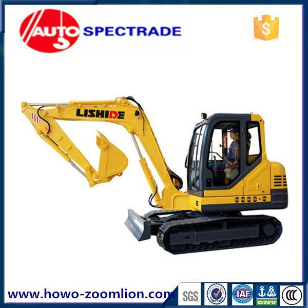 excavator 6 ton China Lishide SC60.8