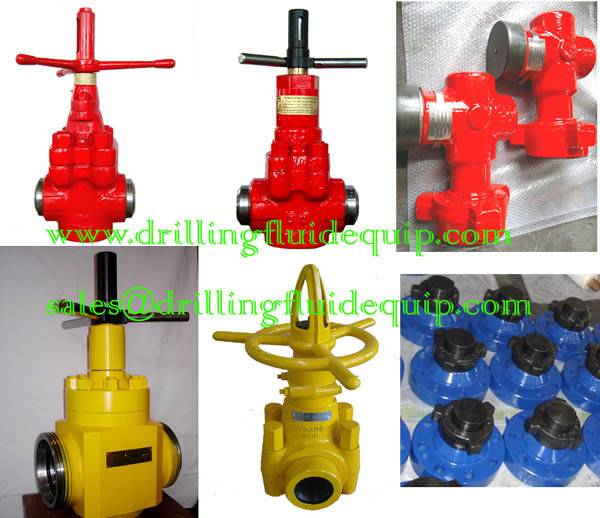 DEMCO DM STYLE MUD GATE VALVE AND PARTS