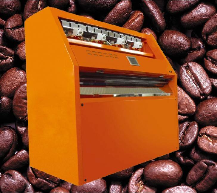coffee bean color sorter & coffee bean processing machine