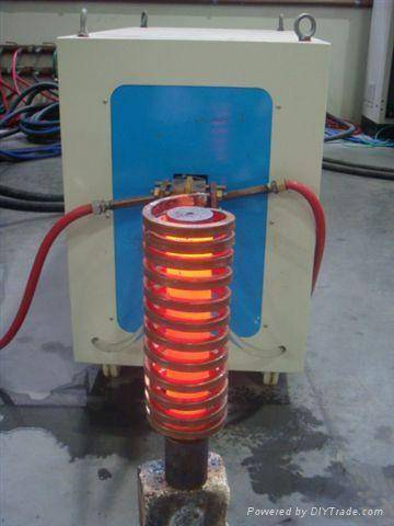Induction heating machine for forging