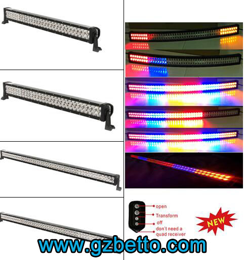 Wholesale LED offroad light bar, 4D LIGHT BAR, 5D light bar, RGB LED light bars