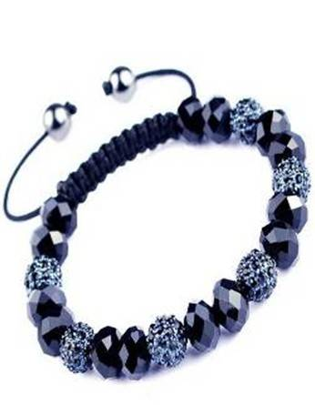 Sell Crastal Rhinestone Black Bluestone Bracelet,imitation jewelry