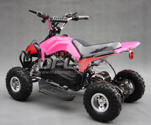 Mini Kawasaki style,CE Approved 450W Electric Quads Bike(ATV) EA9054