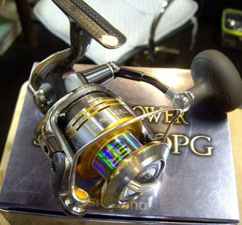 SHIMANO TWIN POWER SW 6000PG SPINNING REEL