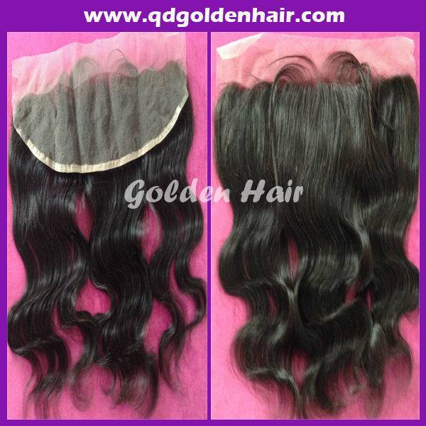 5a Grade High Quality Virgin Human Hair Brazilian Lace Frontal 134