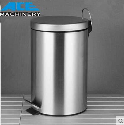 Stainless Steel Braking Pedal Waste Bin