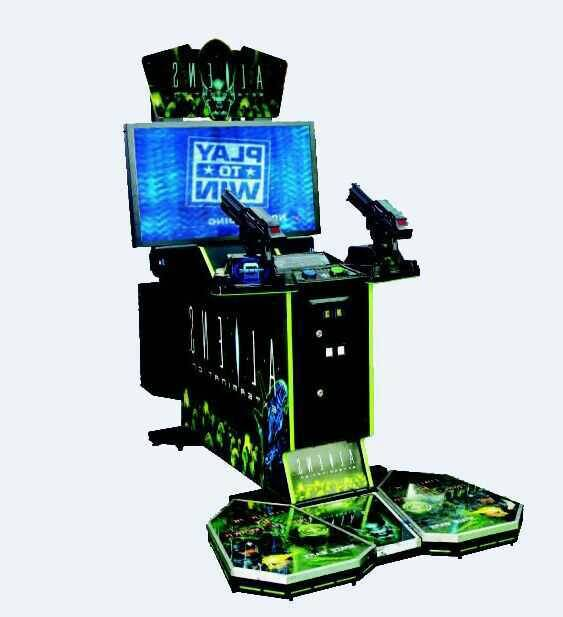 42LCD Aliens Shooting Game Machine Coin Operated Simulator Shooting Game Machine