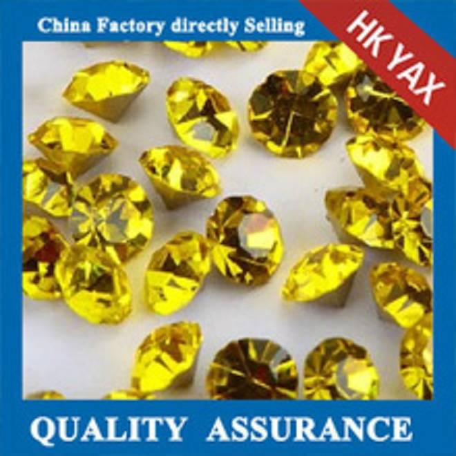 D0928 china factory direct selling point back rhinestones;high quality rhinestone pointed back;shiny