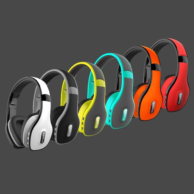 2015 Sports Stereo wireless Bluetooth Earphone headphone with Mic hand free for iPhone