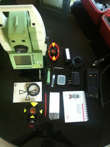 Leica TCRP-1201 R300 Robotic Total Station